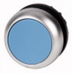 Drucktaste,flach,blau M22-D-B
