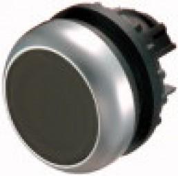 Drucktaste,flach,schwarz M22-D-S