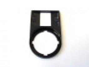 Tastenzusatz-Schildtraeger,o.Schild M22S-ST-X