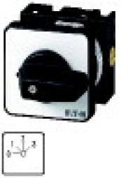 Stufenschalter mit NullstellungZentraleinbau T0-2-8241/EZ