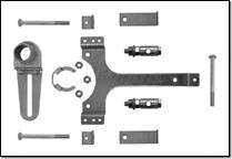 ZG-AFB Montageset für Gestängebetätigung