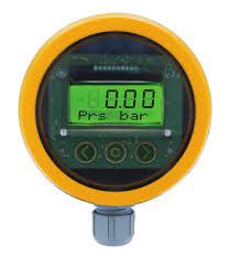 Druck-Transmitter mit Display zur Messung von Drücken in Behältern für nicht korrosive Medien