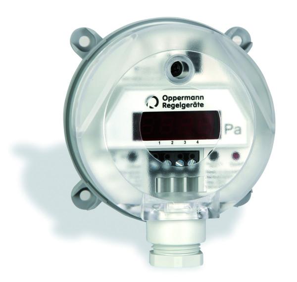 Differenzdruck-Transmitter DDS-AR984xx mit automatischem Nullpunktabgleich ohne Display