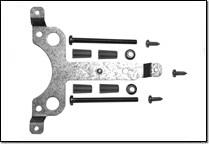 SB-TF Schraubbefestigungs-Set für kurze Klappenachsen