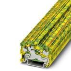 Schutzleiter-Reihenklemme - PTS 1,5/S-TWIN-PE