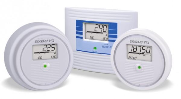 Differenzdruck Anzeiger-Transmitter-Wächter Senso X®